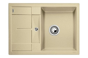 Мойка кухонная кварцевая Blanko METRA 45S COMPACT 519578