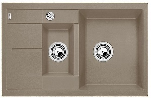 Мойка кухонная кварцевая Blanko METRA 6S COMPACT 517353