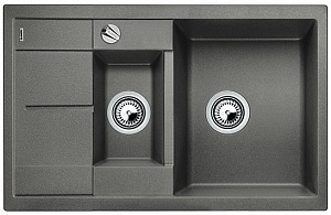 Мойка кухонная кварцевая Blanko METRA 6S COMPACT 513553