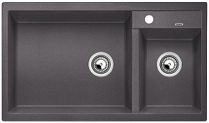 Мойка кухонная кварцевая Blanko METRA 9 518886