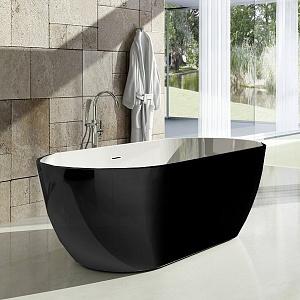 Ванна акриловая Ravak FREEDOM XC00100020_RAL_BLACK